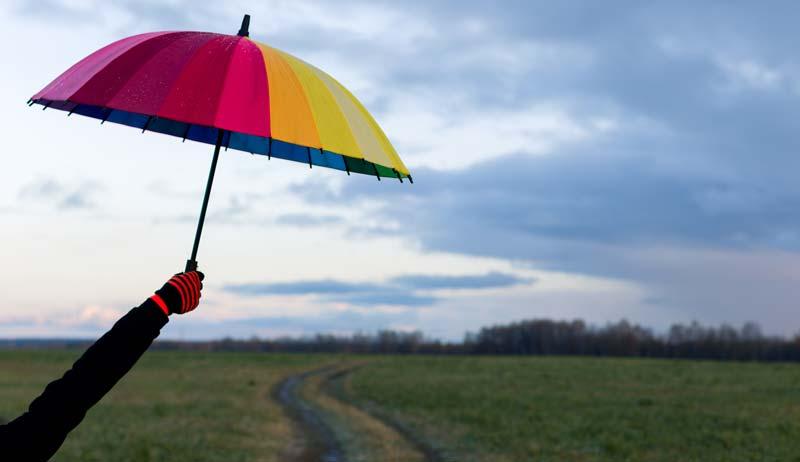 asortarea umbrelei cu personalitatea